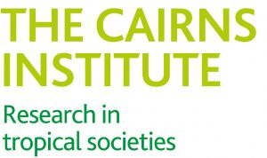 The Cairns Institute Research in tropical societies logo